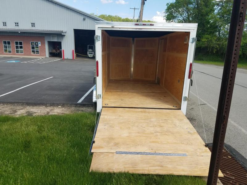 2019 Homesteader Trailer 7X14 V Nose Trailer Enclosed Cargo Trailer
