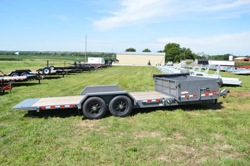 2018 Midsota HS-21 Tilt Equipment Trailer