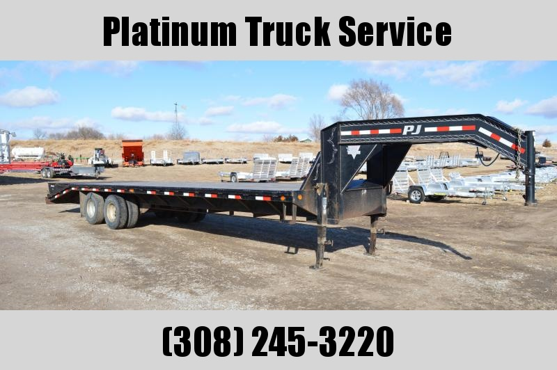 2014 PJ Trailers FB30GN Flatbed Trailer